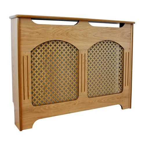 Oak Effect Medium Modern Wooden Wood Radiator Cover Cabinet Home