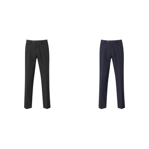 Skopes Mens Madrid Flat Fronted Formal Work/Suit Trousers