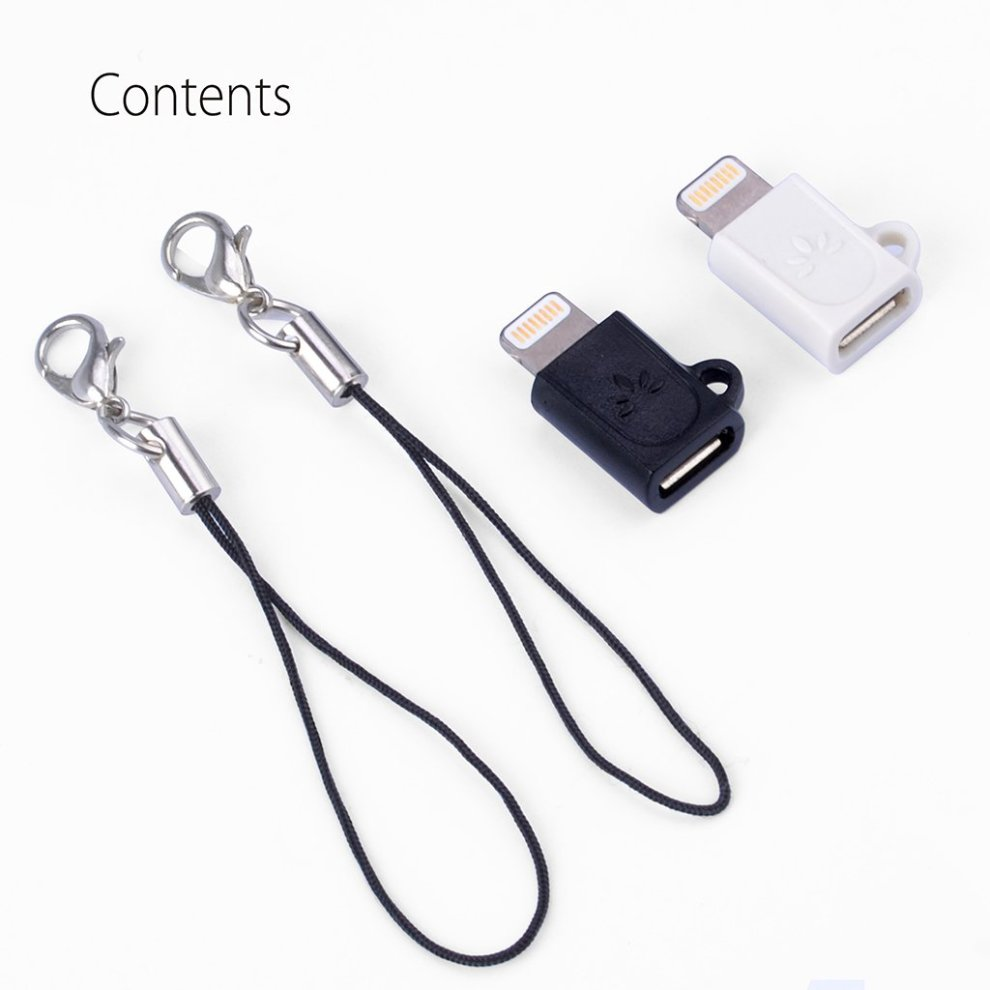 ... Avantree Lightning Adapter Converters, 2 Pack Micro USB to 8 Pin Converters for iPhone 8. >
