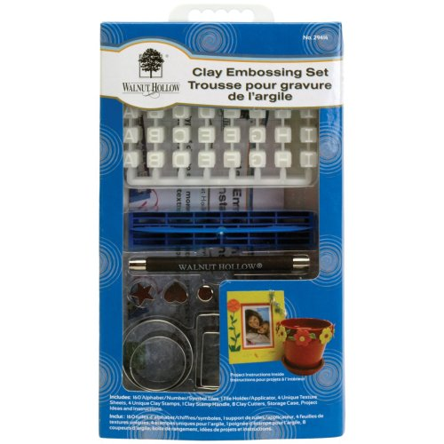 Clay Embossing Set-
