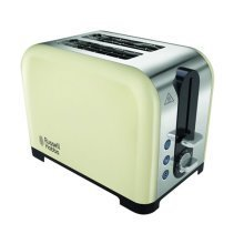 Russell Hobbs Canterbury 2 Slice Toaster - Cream (Model No. 22393)