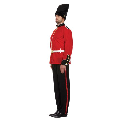 British Royal Busby Guard Fancy Dress Costume