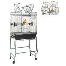 Rainforest Mini Santa Fe Bird Cage/Small Parrot Antique