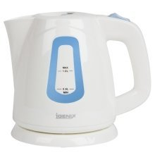 Igenix IG7458 Compact Jug Kettle, 1 L – White or Black