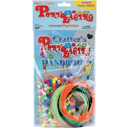Pony Bead Lacing Super Value Pack-