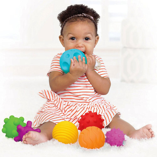 6 Pieces First Baby Ball Set