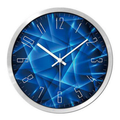Modern & Personality Circular Clock Living Room Decorative Silent Round Wall Clocks, A12