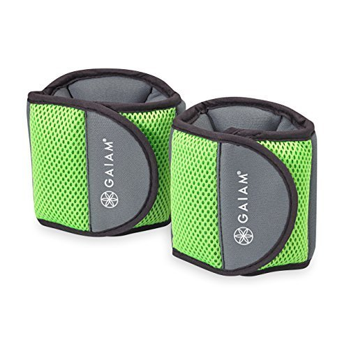 Gaiam Fitness Ankle Weights 5Lb Set