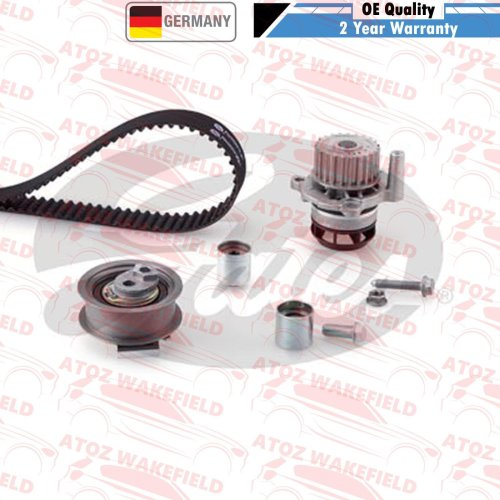 FOR VW GOLF GTI MK5 GENUINE GATES TIMING CAM BELT WATER PUMP KIT SET KP15604XS-2