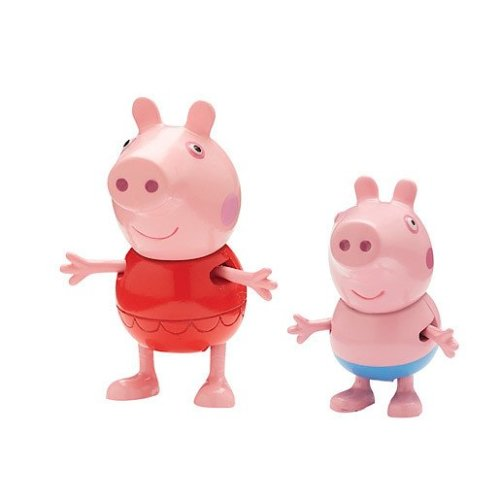 Peppa Pig Holiday Figure Double Pack - Peppa and George in Swimsuits