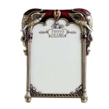 6-inch Photo Frame Retro Style Metal Photoframe and Home Decoration