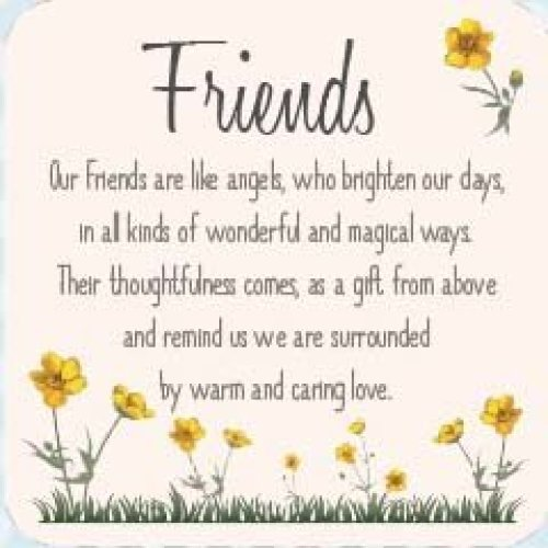 Friends Buttercup Coaster
