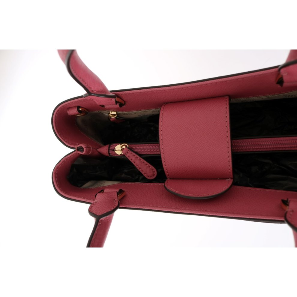 8a6287487f2c ... Michael Kors Handbags Pink HAILEE Leather Tote Bag - 4 ...