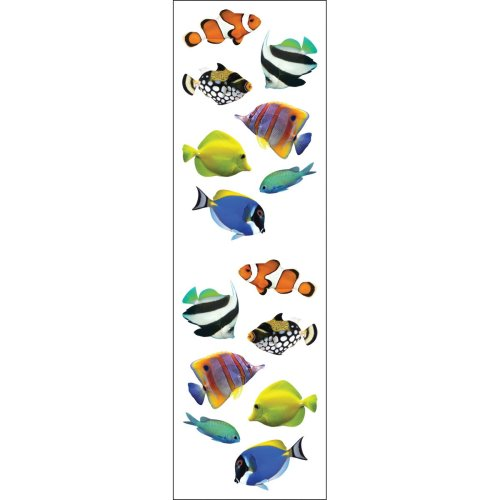 Mrs. Grossman's Stickers-Tropical Fish