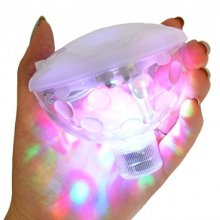 Underwater Light Show - LED Disco Ball Funtime Bath Lf6750 Ultra Bright Plastic -  underwater light show led disco ball funtime bath lf6750 ultra