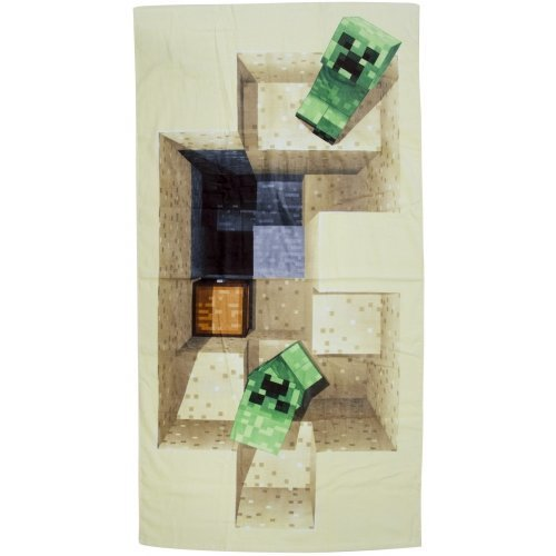 Minecraft 'Defeat' 100% Cotton Beach Towel