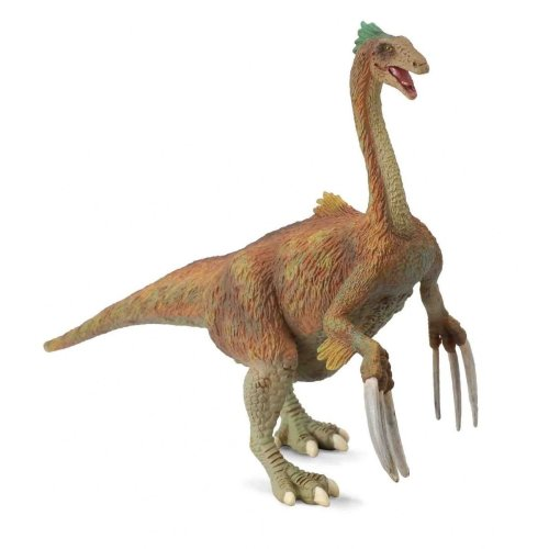 Collecta Prehistoric Life Therizinosaurus Toy Dinosaur Figure - Authentic Hand Painted & Paleontologist Approved Model