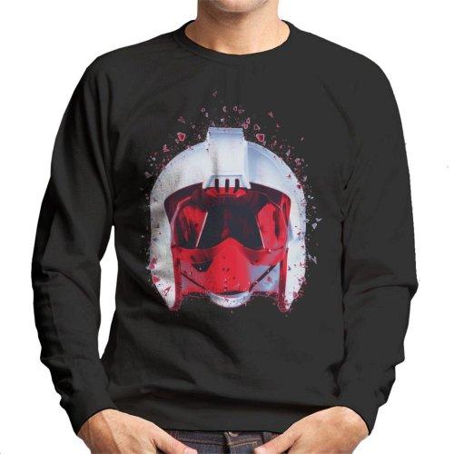 Original Stormtrooper Rebel Pilot Helmet Shatter Effect Men's Sweatshirt