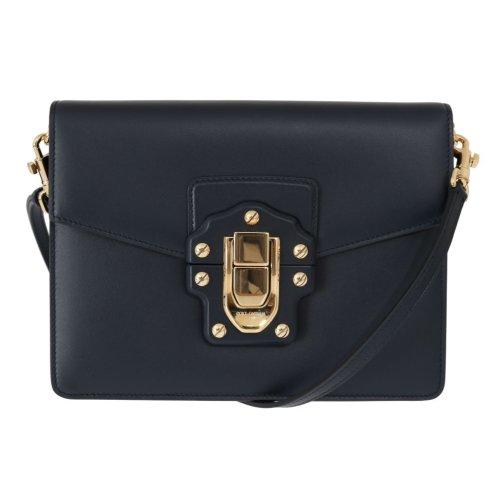 fc4b363d5d Dolce & Gabbana Blue Leather LUCIA Messenger Bag on OnBuy