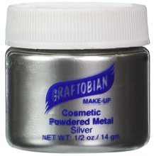 Graftobian Powdered Metal - Silver (0.5 oz)