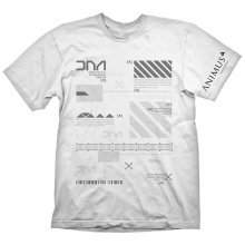 Assassins Creed Mens Animus Powered By Abstergo Industries T-Shirt XXL White