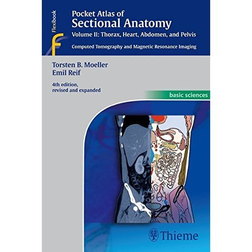 Pocket Atlas of Sectional Anatomy, Volume II: Thorax, Heart, Abdomen and Pelvis: 2