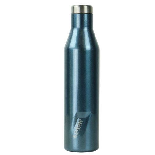 Ecovessel Aspen 750ml Hot Cold Drinks Water Wine Bottle Blue Moon