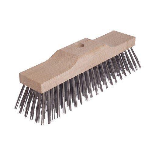 Lessmann 146.201.00 Broom Head Raised Wooden Stock 6 Row 300mm x 70mm