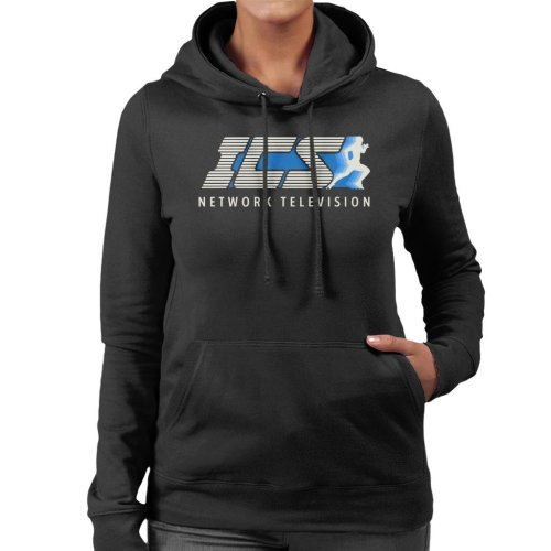 ICS Network Television The Running Man Women's Hooded Sweatshirt
