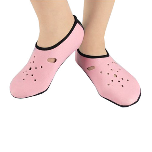 Sand Socks Water Skin Shoes Diving Socks,Pink XL