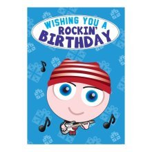 Birthday Card - Rockin' Birthday