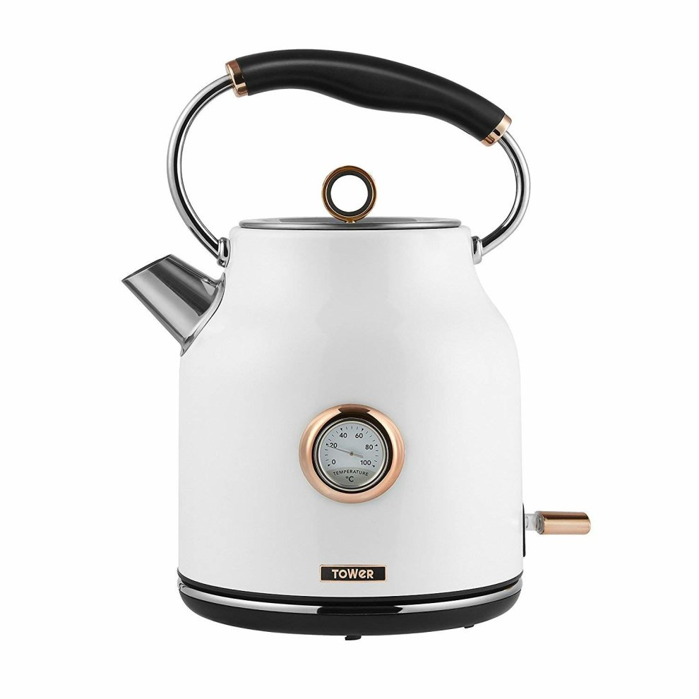 Rose Gold White Digital Microwave 1 7l Traditional