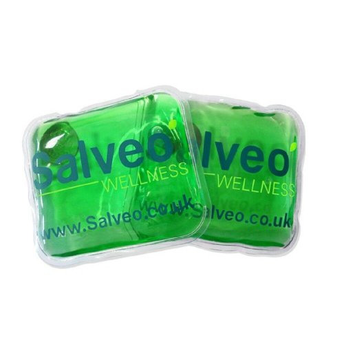 Salveo Reusable Pocket Heat Pads Keep Hand Warm Aches Pain Relief Outdoor 2 Pack