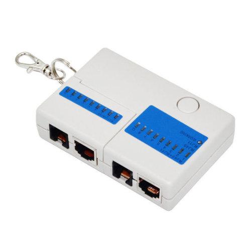 Multifunctional RJ45 RJ11 Network Ethernet Telephone Line Cable Tester