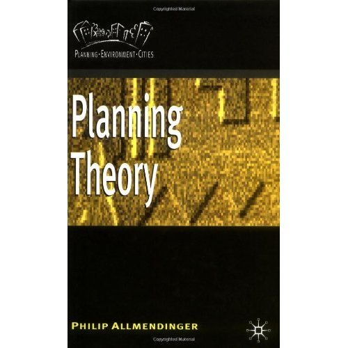 Planning Theory (Planning, Environment, Cities)