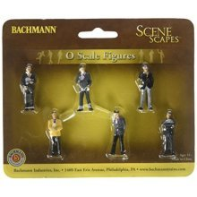 Bachmann Industries Miniature O Scale Figures Businessmen Train (6 Piece)
