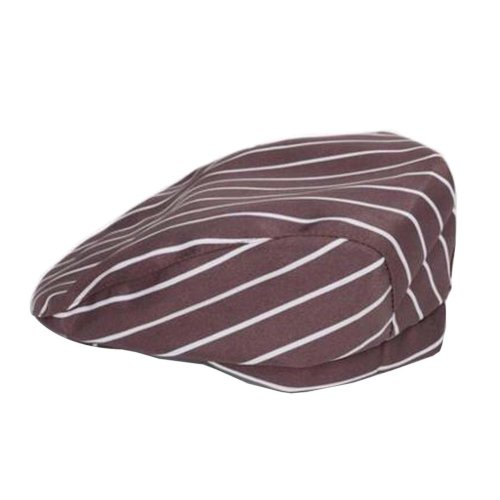 [Coffee Stripe] Kitchen Chef Hat Restaurant Waiter Beret Bakery Cafes Beret