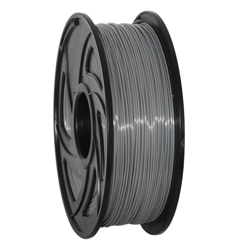 GEEETECH PLA Filament 1.75mm 1Kg spool for 3D Printer,Vacuum Packaging,Gray