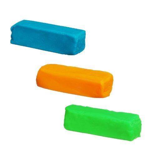 Play Doh Grab N Go Refill Set - Green, Blue, and Orange