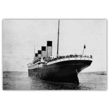 Pyramid International Titanic 3 Wood Print, Multi-Colour, 45 x 76 cm