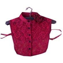 Sweet Detachable Collar False Collars Women's Fake Half Shirt for Sweater, # 01