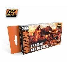 Ak01124 - Ak Interactive Set German Red Primer Set