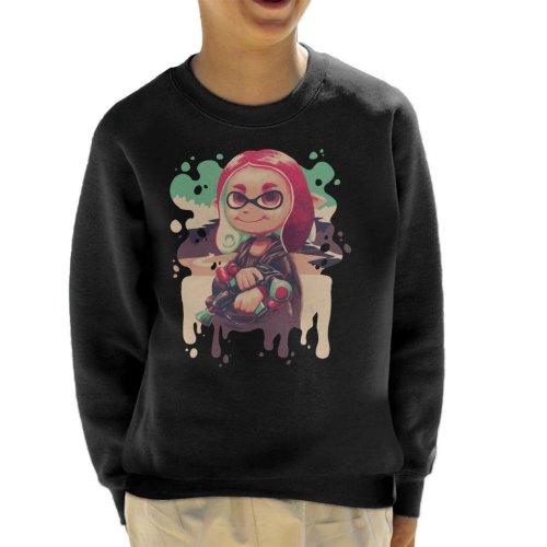 Inkling Lisa Splatoon Kid's Sweatshirt