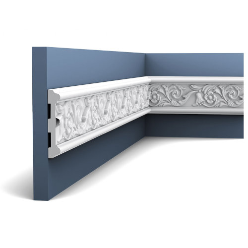 Orac Decor P7020F LUXXUS Flexible Panel Moulding Cornice Stucco | 2 m