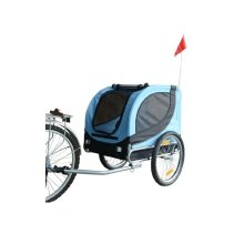 PawHut Dog Carrier Jogger Kit Bike Trailer Steel Frame