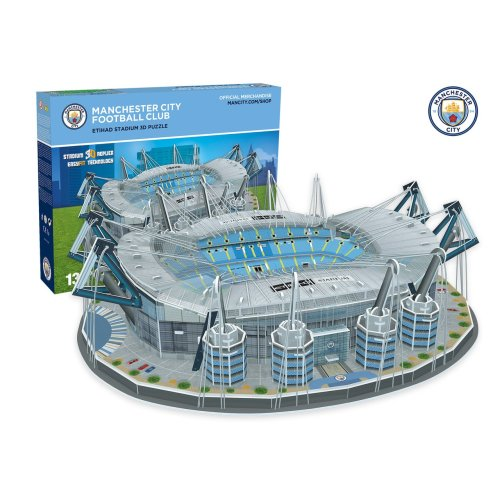Manchester City Eithad Stadium 3d Puzzle - Paul Lamond 3885 Fc -  manchester city stadium 3d puzzle paul lamond 3885 fc eithad