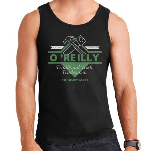 Oreilly Traditional Irish Tradesmen Torquay Fawlty Towers Men's Vest
