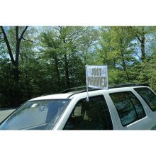 Amscan International Just Married Car Flag