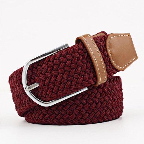 2018 wide belt outdoor elastic stretch waist belt for men women jeans clothing canvas belt female luxury casual straps ceintures