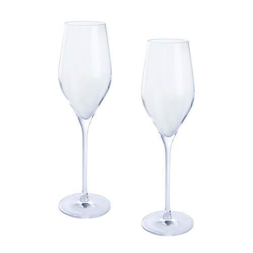 Dartington Crystal Wine and Bar Prosecco Pair, Transparent, 2-Piece